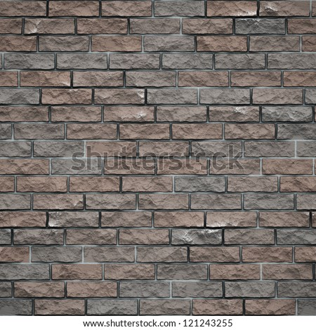Background of brick wall  seamless texture - stock photo