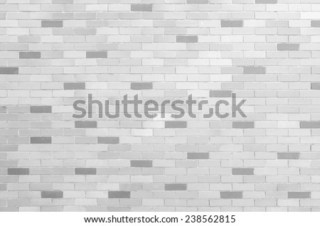 Background of brick wall texture for copy space - stock photo