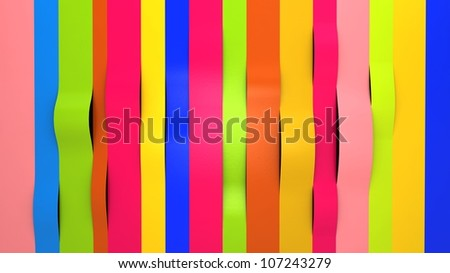 background of bright colorful glossy paper - stock photo