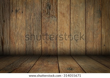 Background of brown old natural wood planks