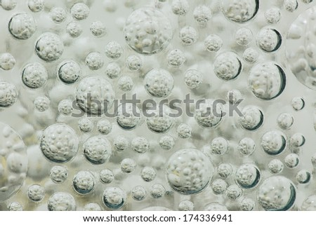 Background of Bubble in glass block, Thailand