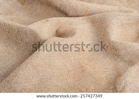 Background of burlap  - stock photo
