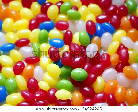 Background of candies - stock photo