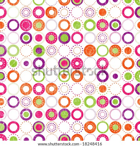 Background of colorful circles