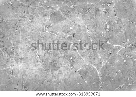 Background of cracked concrete wall texture - stock photo