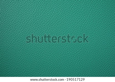 background of dark green artificial leather - stock photo