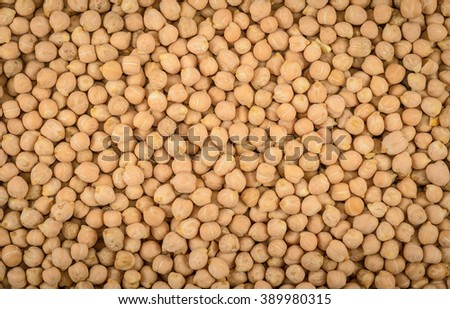 background of dry chick-pea - stock photo