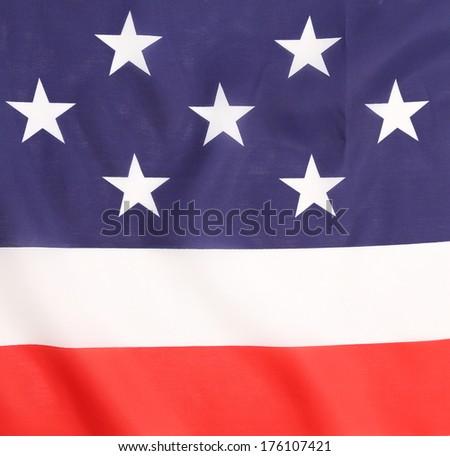 Background of Flag. Close up. Whole background. - stock photo