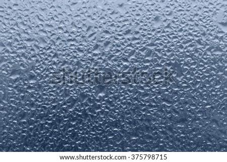 background of foggy window background - stock photo