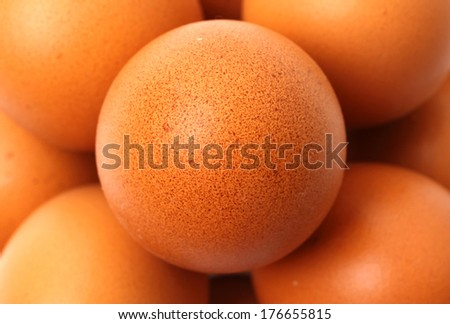 background of fresh eggs for sale at a market