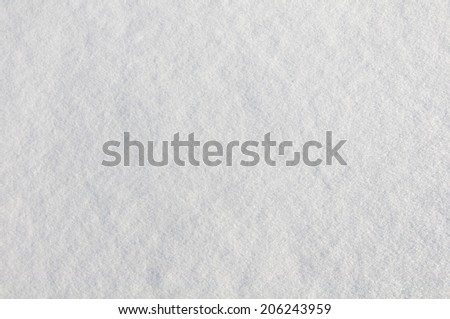 background of fresh snow - stock photo