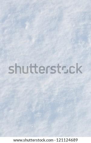 background of fresh snow texture - stock photo