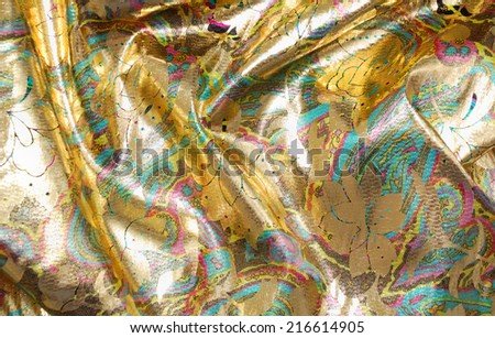 Background of gold color  - stock photo