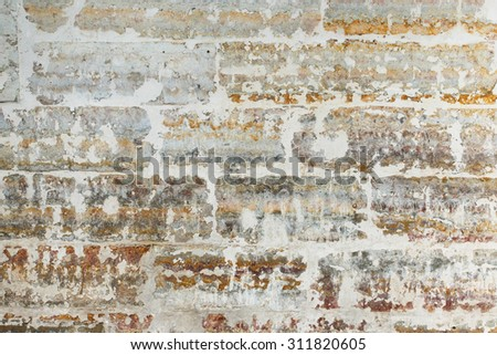 Background of gray brick wall pattern texture - stock photo