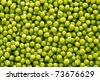 Background of green peas. - stock photo