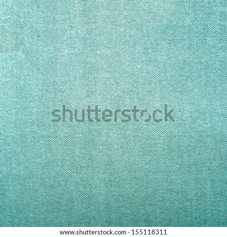 Background of green textile texture. Closeup - stock photo