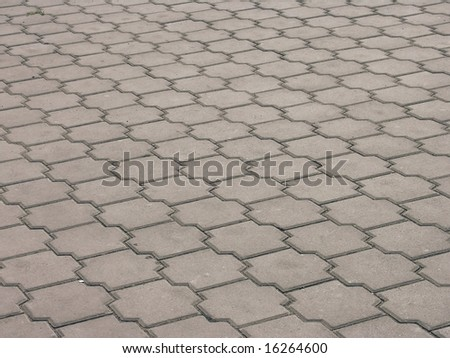background of grey color Stone blocks - stock photo