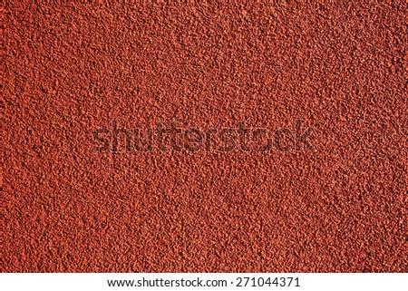 Background of ground run track - stock photo