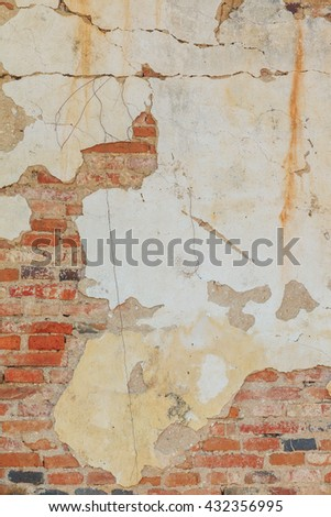 Background of grunge brick wall background, can be used for background abstract - stock photo