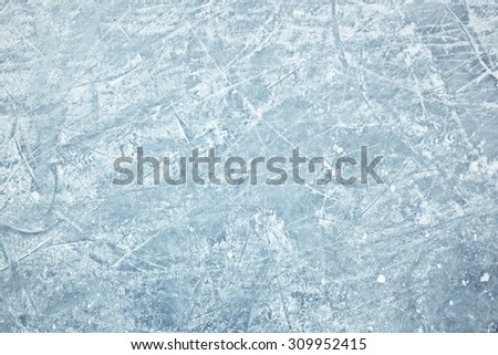 Background of ice field