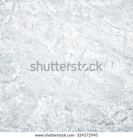 Background of ice field - stock photo