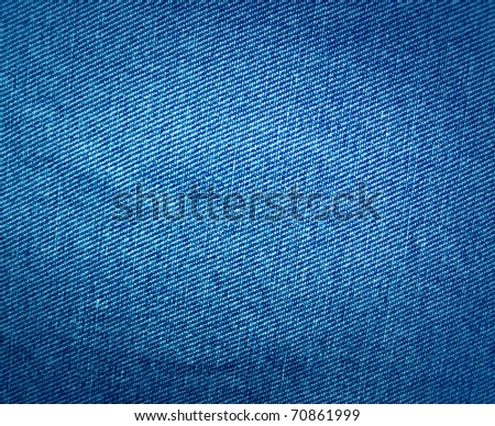 Background of jeans - stock photo