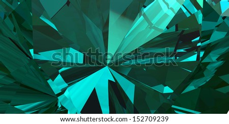 Background of jewelry gemstone - stock photo