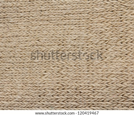 background of knitted fabrics