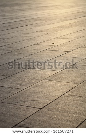 background of marble ground in city square  - stock photo