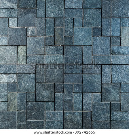 Background of marble tiles - stock photo