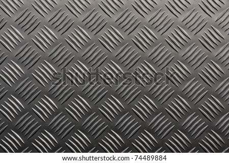 Background of metal with repetitive patten - stock photo
