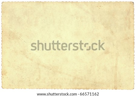 Background of old beige photo paper - stock photo