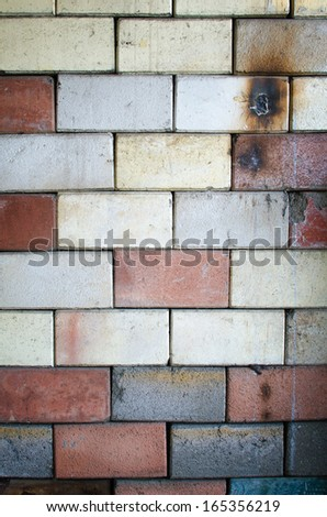 Background of old brick texture