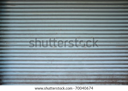 Background of old metal wall - stock photo