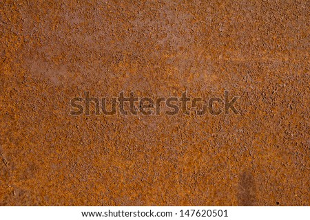 background of old rusty metal - stock photo