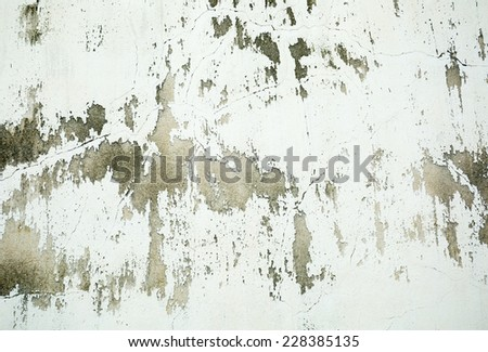 Background of old vintage concrete wall - stock photo