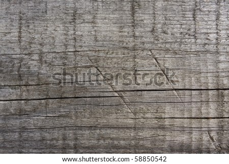 Background of old weathered wooden board - stock photo