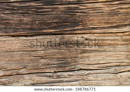 Background of old wood - stock photo