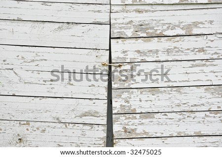 background of old wood doors