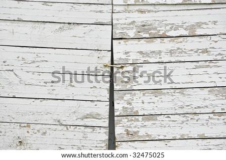 background of old wood doors - stock photo
