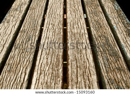 background of old wooden boards - stock photo