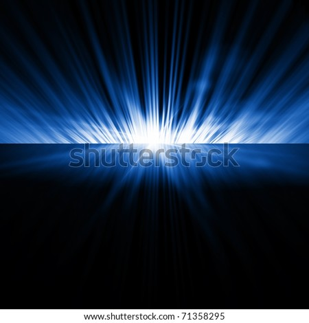 Background of opening - stock photo