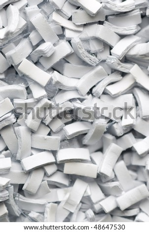 background of Paper shreds - stock photo