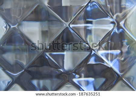 background of pattern of glass block wall
