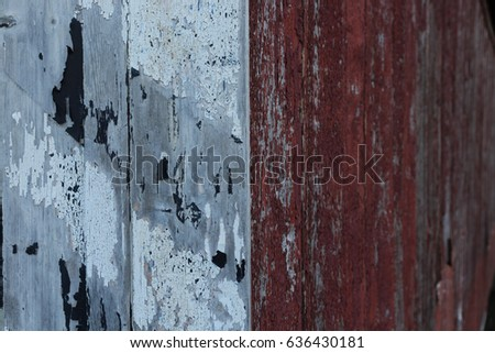 Background of peeling paint