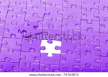 Background of  puzzle - stock photo
