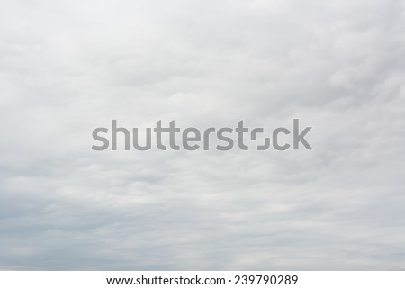 Background of real heavy clouds. - stock photo