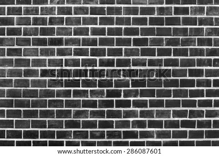 Background of red brick wall texture. - stock photo