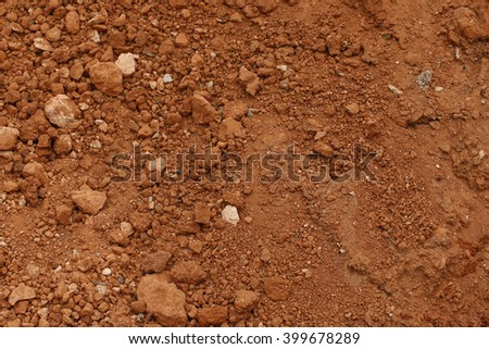 background of red clay