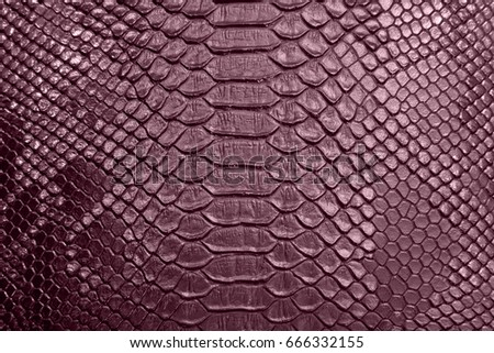 background of red crocodile skin textured